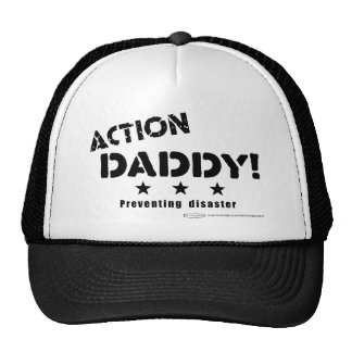 ActionDaddy!: Preventing disaster Trucker Hat