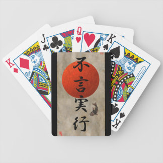 Actions Speak Louder Than Words #1 Bicycle Playing Cards