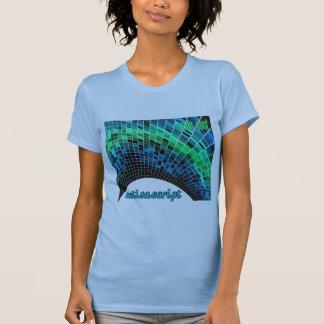 ActionScript- Blue Green Dome T-Shirt