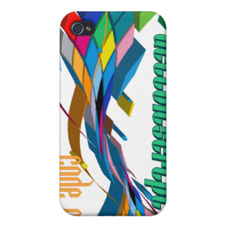 ActionScript- Multicolor Double Arch iPhone 4 Cover