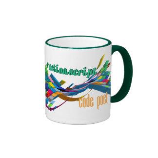 ActionScript- Multicolor Double Arch Mug