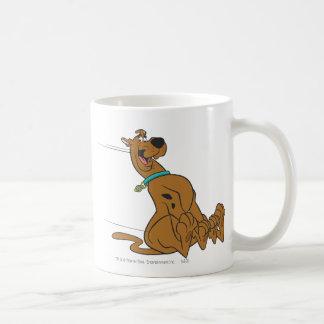 Actitud 101 de Scooby Doo Taza Básica Blanca