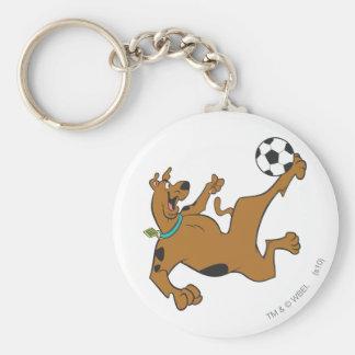 Actitud 10 de los deportes SDX de Scooby Doo Llavero Redondo Tipo Pin
