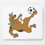 Actitud 10 de los deportes SDX de Scooby Doo Alfombrilla De Ratones