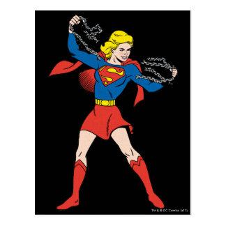 Actitud 10 de Supergirl Postal