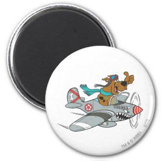 Actitud 14 del transporte de la meta de Scooby Doo Imán Redondo 5 Cm