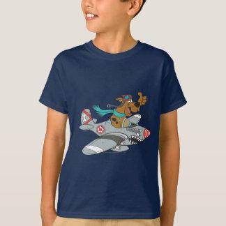 Actitud 14 del transporte de la meta de Scooby Doo Playera