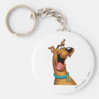 Actitud 15 del aerógrafo de Scooby Doo Llavero Redondo Tipo Pin