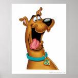 Actitud 15 del aerógrafo de Scooby Doo Póster