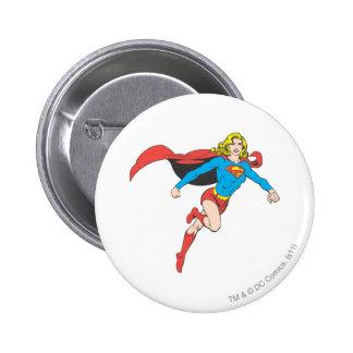 Actitud 1 de Supergirl Pin Redondo De 2 Pulgadas