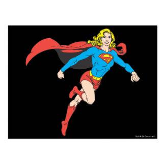 Actitud 1 de Supergirl Postal