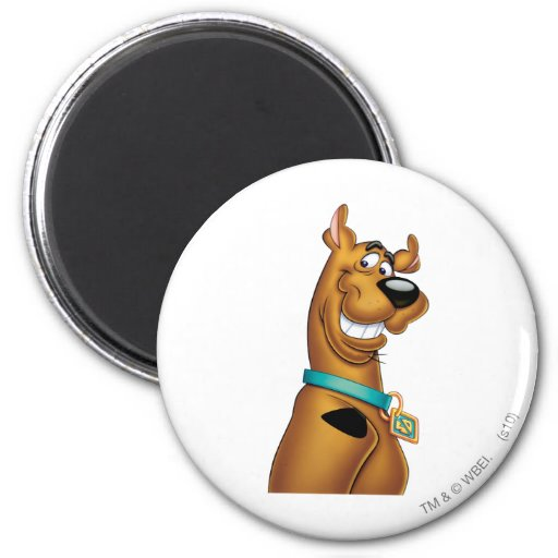 Actitud 22 del aerógrafo de Scooby Doo Imán Para Frigorífico