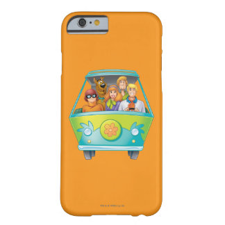 Actitud 25 del aerógrafo de Scooby Doo Funda Barely There iPhone 6