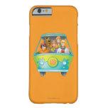 Actitud 25 del aerógrafo de Scooby Doo Funda De iPhone 6 Barely There