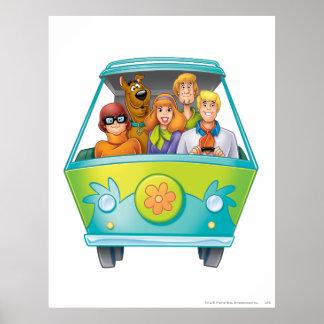 Actitud 25 del aerógrafo de Scooby Doo Impresiones