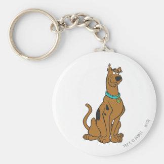Actitud 27 de Scooby Doo Llavero Redondo Tipo Pin