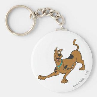 Actitud 39 de Scooby Doo Llavero Redondo Tipo Pin