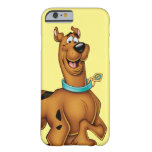 Actitud 3 del aerógrafo de Scooby Doo Funda Para iPhone 6 Barely There
