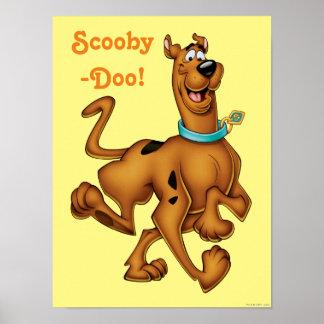 Actitud 3 del aerógrafo de Scooby Doo Póster