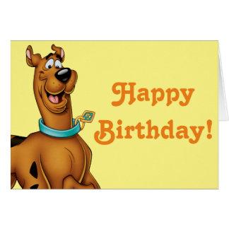 Actitud 3 del aerógrafo de Scooby Doo Tarjeta De Felicitación