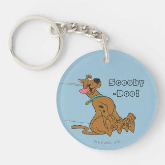 Actitud 47 de Scooby Doo Llavero Redondo Acrílico A Doble Cara