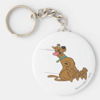 Actitud 47 de Scooby Doo Llavero Redondo Tipo Pin