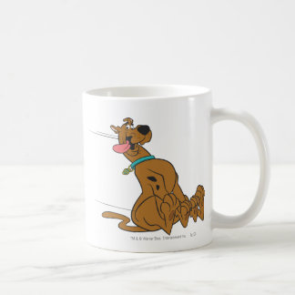 Actitud 47 de Scooby Doo Taza Básica Blanca
