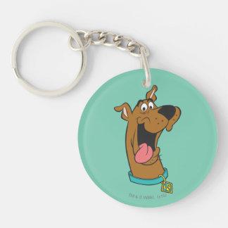 Actitud 49 de Scooby Doo Llavero Redondo Acrílico A Doble Cara