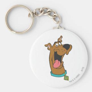 Actitud 49 de Scooby Doo Llavero Redondo Tipo Pin