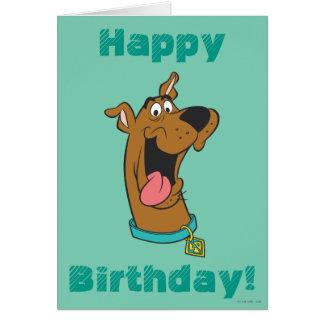 Actitud 49 de Scooby Doo Tarjeta De Felicitación
