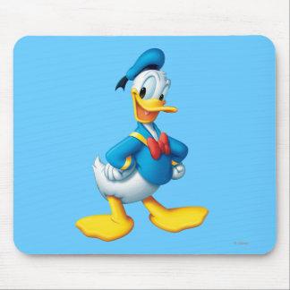Actitud 4 del pato Donald Alfombrillas De Ratón