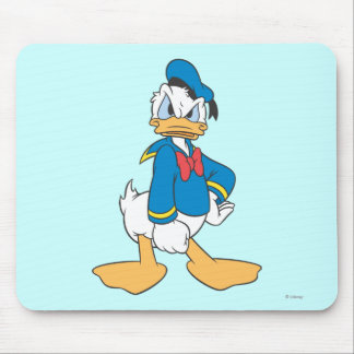 Actitud 5 del pato Donald Mouse Pad