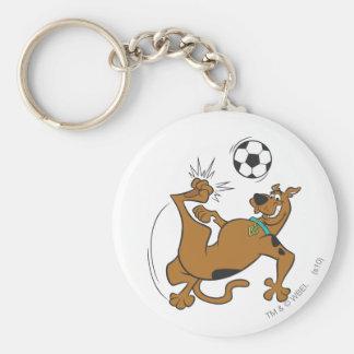 Actitud 6 de los deportes SDX de Scooby Doo Llavero Redondo Tipo Pin