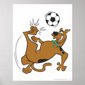 Actitud 6 de los deportes SDX de Scooby Doo Impresiones