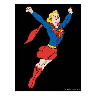 Actitud 6 de Supergirl Tarjetas Postales