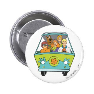 Actitud 71 de Scooby Doo Pin Redondo 5 Cm
