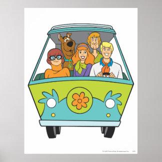 Actitud 71 de Scooby Doo Poster