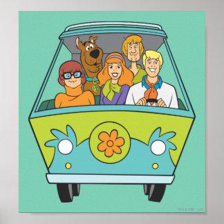 Actitud 71 de Scooby Doo Póster