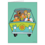 Actitud 71 de Scooby Doo Tarjeta De Felicitación