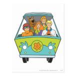 Actitud 71 de Scooby Doo Tarjeta Postal