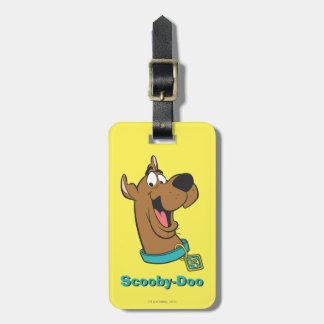 Actitud 85 de Scooby Doo Etiquetas Maletas