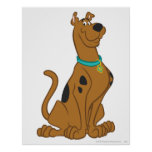 Actitud clásica de Scooby Doo el | Póster