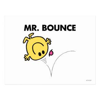 Actitud clásica de Sr. Bounce el | Postal