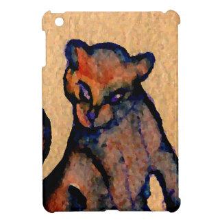 Actitud de Catness del arte del gato del Gato-itud iPad Mini Carcasa