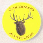 Actitud de Colorado Posavasos Personalizados