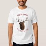 Actitud de Idaho Playeras