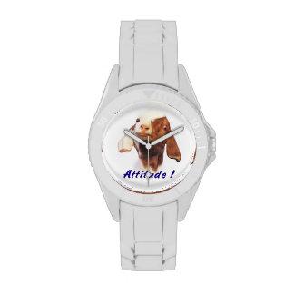 Actitud de la cabra relojes de pulsera