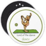 Actitud de la yoga - señor de la danza pin