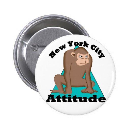 Actitud de NYC Pins