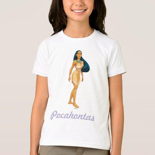 Actitud de Pocahontas Playeras